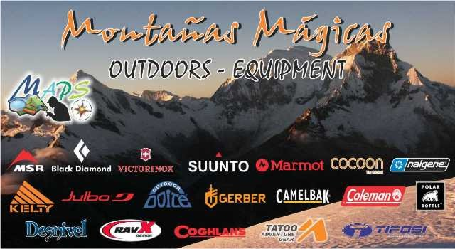 MONTAÑAS MÁGICAS OUTDOORS - EQUIPMENT HUARAZ PERÚ